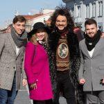 Filipas Kirkorovas laisvą pusdienį leido Vilniaus centre